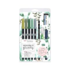Tombow ABT Dual Brush sett Greenery