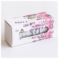 Washi tape Lavendel 5-pakk