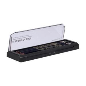 Tombow blyanter MONO 100 mix 4H-6B 12-pakk