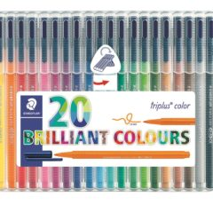 STAEDTLER Filtpenn Triplus Color 1,0mm 20 pakk