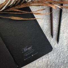 NY! BULLET Black Raven Notebook