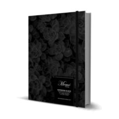 MEMO BULLET Black Notebook
