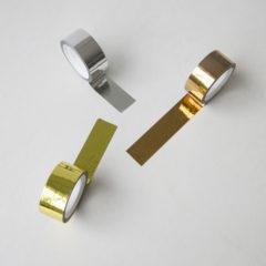 Washi tape Metallic 3-pakk