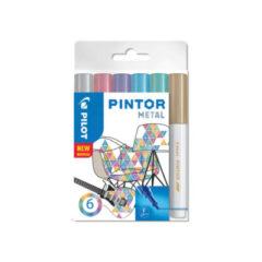 Pilot Marker Pintor Fine Metal Mix