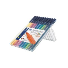 STAEDTLER Filtpenn Triplus Color 1,0mm assortert (10)