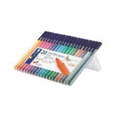 STAEDTLER Filtpenn Triplus Color 1,0mm assortert (20)