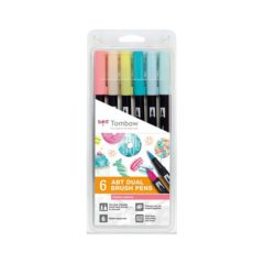 Tombow ABT Dual Brush 6P-4 Candy farger (6)