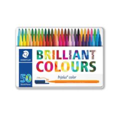 STAEDTLER Filtpenn Triplus Color i box 1,0mm ass (50)